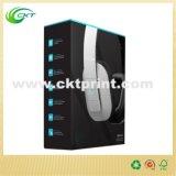 Impressão feita sob encomenda da caixa de embalagem do auscultadores do fornecedor de China (CKT-CB-259)