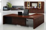 Mesa de escritório clássica do executivo da madeira contínua de mobília de escritório do projeto (HX-RD6065)
