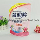 Kunststoffgehäuse-Drucken Doypack mit Tülle für Wäscherei-Reinigungsmittel