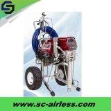 Bewegliche elektrische luftlose Wand-Spray-Lack-Hochdruckmaschine für Verkauf St500tx