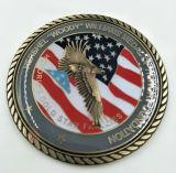 관례 미국 군은 동전에 도전한다