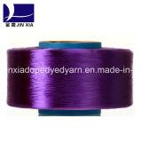 Hilado teñido droga del filamento del poliester 100d/36f de FDY