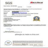Flange de pescoço de aço carbono com ISO9001