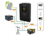 inverseur solaire du hors fonction-Réseau 1800W hybride avec le contrôleur de chargeur de MPPT
