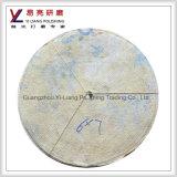 Режущий диск нержавеющей стали сизаля ткани круглый