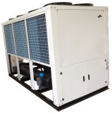 Refrigerador de refrigeração ar do parafuso para o empacotamento refrigerando da cerveja do leite