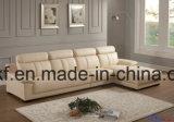 حديثة بيتيّة أثاث لازم جلد ركن يعيش غرفة أريكة ([أول-نس004])