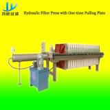 Pressão de filtro hidráulico com placa de tração única