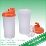 пластичная бутылка трасучки протеина 700ml с коробкой пилюльки
