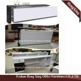 (HX-4402) Forniture di ufficio moderne della contro Tabella superiore di vetro del rivestimento della polvere