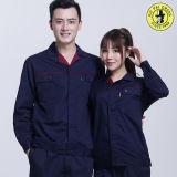 綿ポリエステル男女兼用のWorkwear、工場は働くユニフォームを維持する