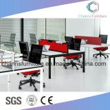 Stilvolles Büro-gerader modularer Aufgabe-Schreibtisch-Möbel-Arbeitsplatz für Führer