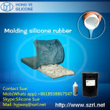 Silicone líquido para a fatura dos moldes do emplastro