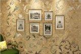 Papeles pintados clásicos raspables del lujo del diseñador del estilo europeo de GBL