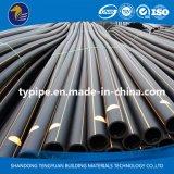 Трубопровод полиэтилена высокой плотности высокого качества пластичный для газа