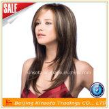 100% 인간적인 처리되지 않은 Virgin 브라질 머리 레이스 가발