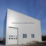 Vorfabriziertbaustahl-Gebäude mit Nizza Entwurf