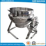 Pot de cuisine en acier inoxydable de haute qualité avec machine alimentaire