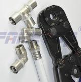Инструмент руки гофрируя для разнослоистой трубы под европейским стандартом