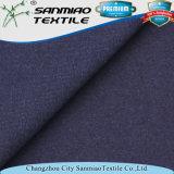 Tessuto della Jersey dello Spandex del cotone 15% dell'indaco 85% singolo