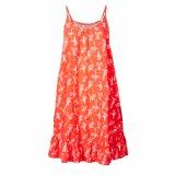 Les femmes de mode ont tricoté des loisirs estampés ourlent lâchement la robe plissée de glissade