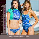女性の水着のかぎ針編みの水泳の摩耗のランジェリーの水着の水着のビキニ(TKYA269)