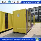 Casa móvel do recipiente da casa da casa profissional do Prefab da manufatura 20FT para a venda