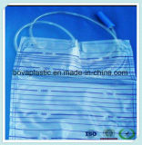 아기를 위한 Eco-Friendly 의학 급료 카테테르 연결관 소변 부대