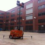 LEDの道路工事のための移動式照明タワーを使用して