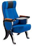 執筆タブレットが付いているパッディング大学講堂の椅子