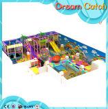 Campo de jogos interno da aptidão do equipamento da corrediça quente do jogo dos miúdos da venda
