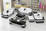 流行の居間のイタリア革マイアミのソファー