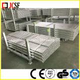 Gestell-Stahlgefäß mit Endpass-Stücken/Torsion-Verschluss-Gefäß im Baugerüst