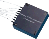 8 módulo de fibra óptica del canal VOA