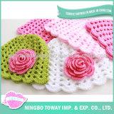 As lãs da alta qualidade aquecem chapéus do Crochet do bebê da pele