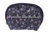 Sacchetto cosmetico di nylon stampato fiore (KC081)
