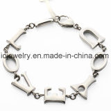 Il commercio all'ingrosso scherza il braccialetto di fascino dell'elefante dell'acciaio inossidabile dei monili