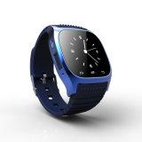 El reloj de lujo Smartwatch del reloj R del nuevo reloj elegante de M26 Bluetooth con la dial SMS recuerda el podómetro para el teléfono androide de Samsung