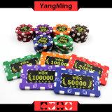 Der gedruckte Zoll/das Schürhaken-Chip-Roulette-Spiel des Schach-Kasinos bricht Ym-Cp028/Cp029 ab