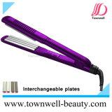 Профессиональный раскручиватель волос с плитами керамического покрытия Tourmaline заменимыми