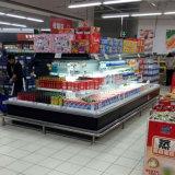 Refrigerador aberto de Multideck do console vertical do supermercado do refrigerador dos fornecedores de China