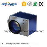 Explorador de alta velocidad de la exploración del Galvo Jd2204 para el sistema de la marca del laser de la fibra