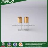 3ml borran la botella de cristal de lujo del desodorisante del perfume con el pequeño Portable de la tapa de aluminio