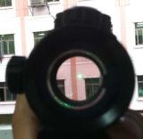 Alcance verde rojo táctico With10mm -20mm de la vista del PUNTO 1X30