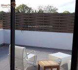 Panneaux faciles en aluminium extérieurs de frontière de sécurité de l'armure WPC de jardin d'installation à vendre