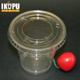 Copo de água plástica de plástico descartável personalizado impresso