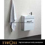 Малый набор тщеты ванной комнаты с брить шкаф и раковину верхнее Tivo-0027vh
