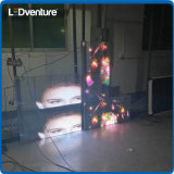 풀 컬러 건물 정면을%s 투명한 LED 스크린 전시