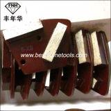 Диамант полируя машины конкретного каменного Epoxy покрытия металла этапа меля