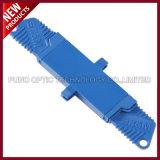 E2000/UPC aan E2000/UPC de Simplex Singlemode Plastic Optische Adapter van de Vezel